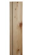 Bardage Mélèze de Sibérie ép.21mm larg.132mm utile (145 hors tout) long.3,00m - Bloc-porte POLAIRE isolante huisserie 73mm haut.2,04m larg.73cm poussant droit - Gedimat.fr