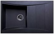 Evier à encastrer WAVE quartzolit 1 cuve + 1 égouttoir long.86cm larg.53cm granité noir - About d'arêtier ventilation ROMANE / ROMANE CANAL TBF coloris vieilli languedoc - Gedimat.fr