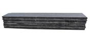 Bloc muret en pierre bleue clivetée long.50cm larg.10cm haut.8cm - Piliers - Murets - Aménagements extérieurs - GEDIMAT