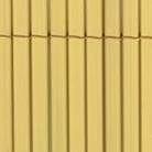 Canisse double face COLORADO 1,5 x5 m coloris naturel - Brises-vue - Canisses - Aménagements extérieurs - GEDIMAT