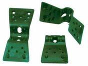 Clips plastique 35 vert - Grillages - Aménagements extérieurs - GEDIMAT