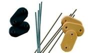 Attaches et colliers pour canisse - Brises-vue - Canisses - Aménagements extérieurs - GEDIMAT