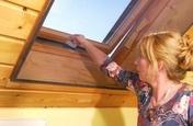 Toile moustiquaire pour fenêtre de toit toile polyester gris haut.1,70m larg.1,40m - Panneau d'habillage SLATE long.100cm haut.200cm noir - Gedimat.fr