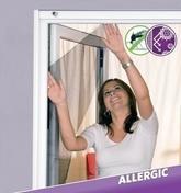 Toile tissu stop pollen haut.1,50m larg.1,30m - Volets - Stores - Menuiserie & Aménagement - GEDIMAT
