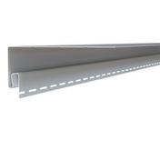 Moulure de finition pour bardage vinyl ép.73mm larg.200mm long.2,90m Gris clair - Clins - Bardages - Matériaux & Construction - GEDIMAT