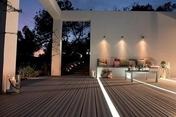 Lame de terrasse Composite FOREXIA ELEGANCE double peigne ép.23mm larg.138mm long.4,00m Savane - GEDIMAT - Matériaux de construction - Bricolage - Décoration