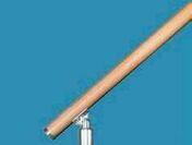 Main courante R15 bois pour garde-corps RONDO - Panneau de Particule Surfacé Mélaminé (PPSM) ép.8mm larg.2,07m long.2,80m Grimsey finition Velours Bois poncé - Gedimat.fr