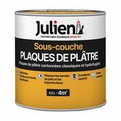 Sous couche plaque de plâtre J6 JULIEN bidon de 10 litres + 20% gratuit - About d'arêtier CANAL coloris paysage - Gedimat.fr