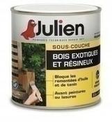 Sous couche bois exotiques et résineux J8 JULIEN bidon de 2,50 litres - Produits de finition bois - Peinture & Droguerie - GEDIMAT