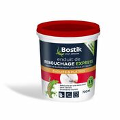 Enduit de rebouchage express en pâte BOSTIK tube de 200ml - Plinthe Pin des Landes sans nœud bord arrondi section 10x70mm long.2,50m - Gedimat.fr