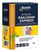Enduit d'égalisage express en poudre BOSTIK boîte de 1kg - Enduits - Colles - Isolation & Cloison - GEDIMAT