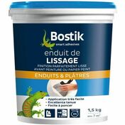 Enduit de lissage mural en pâte BOSTIK seau de 5kg - Enduit de ragréage FERMACELL sac de 25 kg - Gedimat.fr