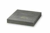 Chapeau de pilier dim.40x40cm �p.6cm ton marbr� gris - Piliers - Murets - Am�nagements ext�rieurs - GEDIMAT