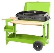 Plancha SUPER REINA avec couvercle sur chariot granny - Barbecues - Fours - Planchas - Plein air & Loisirs - GEDIMAT