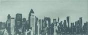 Décor satiné LAQUE SKYLINE NY, 20x50 cm, épaisseur 8 mm, pearl - Carrelage pour mur en faïence satinée LAQUE larg.20cm long.50cm coloris pearl - Gedimat.fr