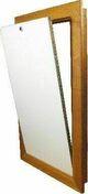Trappe verticale Bois - Bloc-porte AUBRAC huisserie 72x45mm en épicéa 1er choix haut.204cm larg.73cm gauche poussant - Gedimat.fr