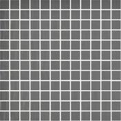 Emaux de verre de 2,5x2,5cm antidérapant NATUREGLASS sur trame de 31,1x31,1cm coloris dark grey - Carrelage pour sol en grès cérame décoré ULTRA dim.45x45cm coloris grey silver - Gedimat.fr