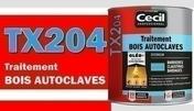 Traitement bois autoclavés TX204 - Traitements curatifs et préventifs bois - Peinture & Droguerie - GEDIMAT