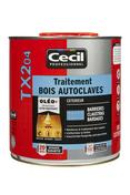 Traitement bois autoclavés TX204 2,5L vert - Traitements curatifs et préventifs bois - Couverture & Bardage - GEDIMAT