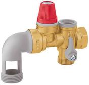GROUPE DE SECURITE COUDE NF - 7BARS - Chauffe-eau et Accessoires - Plomberie - GEDIMAT