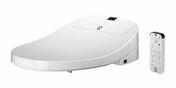 Abattant WC douche ASEO PLUS thermosouple blanc - Carrelage pour sol intérieur en grès cérame émaillé CLAYSTONE dim.90x90cm coloris blanc - Gedimat.fr