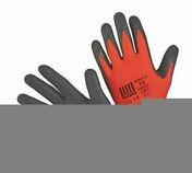 Lot de 6 paires de gants rouges latex noir Taille 10 - Doublage polyuréthane SIS REVE ép.60+10mm larg.1,20m long.2,60m - Gedimat.fr