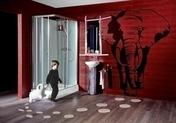 Mitigeur lavabo mural TRIVERDE chromé - Bardelis droit PLATE 20x30 coloris rethaise - Gedimat.fr
