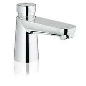 Mitigeur lavabo temporisé Euroeco Cosmopolitan GROHE chromé - Lavabos - Vasques - Lave-mains - Plomberie - GEDIMAT