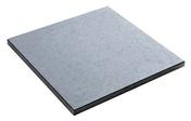 Dalle pour terrasse ou piscine en pierre reconstitu�e GEDIDALLE dim.50x50cm coloris gris - Pav�s - Dallages - Mat�riaux & Construction - GEDIMAT