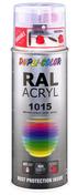Bombe de peinture RAL 1015 Ivoire Clair - Brillant Duplicolor - Bombes de peinture - Peinture & Droguerie - GEDIMAT