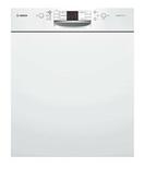Lave vaisselle 12 couverts 5 programmes BOSCH Bandeau Blanc - Porte d'entrée Aluminium WYOMING avec isolation totale de 140mm droite poussant haut.2,00m larg.90cm laqué gris - Gedimat.fr