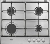 Plaque de cuisson 4 feux gaz (1000W, 2 x 1750W, 3000W) WHIRLPOOL 60cm coloris inox - Té laiton brut 130GCU à souder diam.14mm sortie à visser diam.15x21mm 1 pièce en vrac avec lien - Gedimat.fr