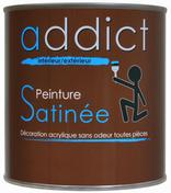 Peinture acrylique satin 0.5 l castor - Peintures - Peinture & Droguerie - GEDIMAT