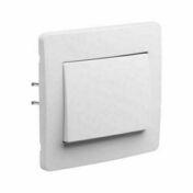 Appareillage encastré va et vient gamme Diam2 couleur blanc - Interrupteurs - Prises - Electricité & Eclairage - GEDIMAT
