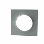Plaque 1P Odace Styl Gris - Interrupteurs - Prises - Electricité & Eclairage - GEDIMAT