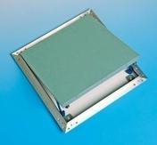 Trappe de visite métallique laquée blanche ACCESSORIE - 300x300mm - Baignoires - Tabliers - Salle de Bains & Sanitaire - GEDIMAT