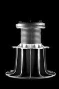 Plot auto-nivellant pour dalle hauteur de 155 à 245 mm - Porte de service isolante BAYEUX en PVC ISO140 Blanc gauche poussant haut.2,00m larg.80cm - Gedimat.fr