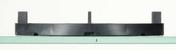 Plot fixe H. 10mm pour dalle - Laine de verre en rouleau PLATEAU NOIR 40R revêtue d'un voile de verre noir ép.50mm larg.50cm long.12,50m - Gedimat.fr