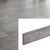Plinthe pour sol intérieur COMPAKT larg.8cm long.60cm coloris marengo - Sol stratifié LD95 ép.8mm larg.220mm long.2052mm chêne cappucino - Gedimat.fr