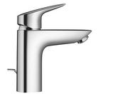 Mitigeur lavabo petit modèle MY CUBE HANSGROHE chromé - Colonne de douche non hydro DOME DE PLUIE TOUAREG laiton chromée - Gedimat.fr