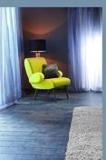 Carrelage pour sol int�rieur en gr�s c�rame �maill� WOODCEMENTO larg.15cm long.90cm coloris antracite - Carrelages sols int�rieurs - Cuisine - GEDIMAT