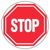 Panneau rond «stop» diamètre 300mm - Signalisation - Outillage - GEDIMAT