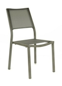 Chaise florence alu dim.87x50x60cm coloris brush gris - Bi-lame de rechange pour coupe isolants 35x35mm. - Gedimat.fr