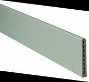 Lame écran atmosphère 21x150x1783mm gris clair - Chevêtre ULYSSE mur section 15x20 cm long.2.40m - Gedimat.fr