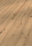 Sol composite LINDURA ép.15mm larg.270mm long.2200mm chêne blanc - Sol stratifié SOLID MEDIUM ép.12mm larg.122x long.1286mm chêne Chêne canaries - Gedimat.fr