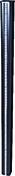 Boîtier solaire + bande Led haut.191cm - Poinçon pointe élancée coloris rouge flammé - Gedimat.fr