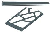 Kit déco acier pour clôture EASYCLAUSTRA - Ecrans - Clôtures - Menuiserie & Aménagement - GEDIMAT
