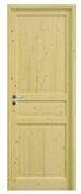 Bloc-porte CIRCEE huisserie 92x45mm en épicéa 1er choix haut.204cm larg.63cm droit poussant - Rive individuelle gauche à recouvrement grand modèle coloris noir brillant - Gedimat.fr