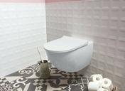 Abattant WC pour cuvette SENTO blanc - Abattants et Accessoires - Salle de Bains & Sanitaire - GEDIMAT