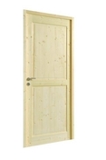Bloc-porte TRUYERE huisserie 72x45mm en épicéa 1er choix haut.204cm larg.83cm droit poussant - Peinture fer antirouille intérieur/extérieur 0,5L brun noyer - Gedimat.fr